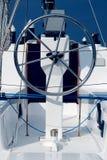 Rudder. Image of a sailboat rudder Stock Images