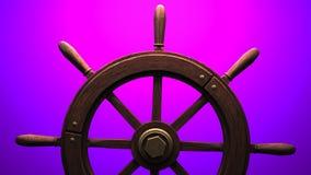 Rudder na purpurowym tle zbiory