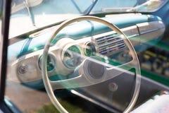 Rudder rocznika samochód Obraz Royalty Free