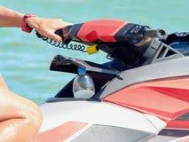Rudder wodny motocykl Zdjęcie Stock