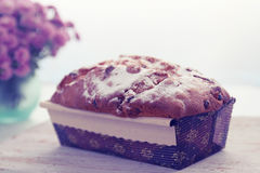 Ruddy cake, tinted Royalty Free Stock Images