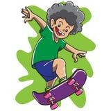 Rude Boy Skateboarding Royalty Free Stock Photos