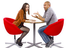 Rude Date Royalty Free Stock Images