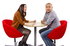 Rude Date Stock Photography