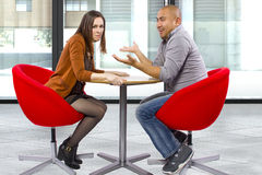 Rude Date Stock Image