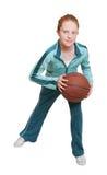 rude dziecko koszykówki Obraz Royalty Free