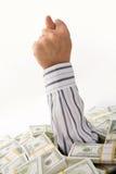 Rude gesture Stock Images