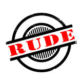 Rude rubber stamp Stock Photo