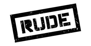 Rude rubber stamp Royalty Free Stock Photo
