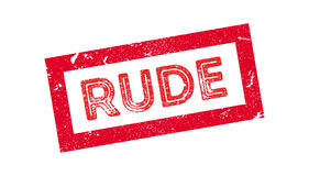 Rude rubber stamp Stock Photos
