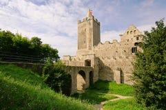 Rudelsburg 免版税图库摄影