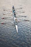 Ruderboot in Adelaide, Australien Stockbild