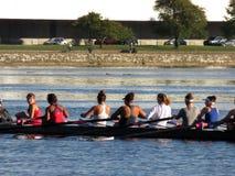 Rudern auf dem Potomac Lizenzfreie Stockfotografie