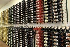Rudern Sie nach Reihe von Vielzahl im Wein, die Adirondack-Weinkellerei, See George, New York, 2016 Lizenzfreie Stockfotografie