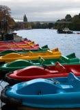Rudersport-Boote Stockbild