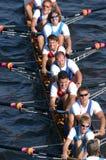 Rudersport-Team Stockbilder