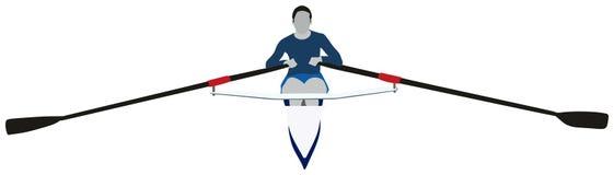 Rudersportsport Lizenzfreies Stockfoto