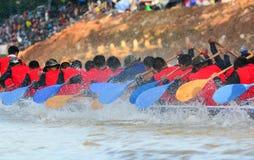 Rudersportteam Lizenzfreies Stockbild