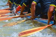 Rudersportteamrennen Stockfotografie