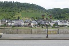 Rudesheim, Германия на реке Rhein стоковые фотографии rf