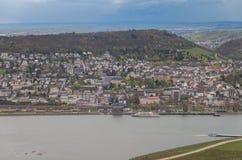 Rudesheim Reno Germania immagine stock