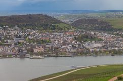 Rudesheim Rhin Alemania foto de archivo libre de regalías