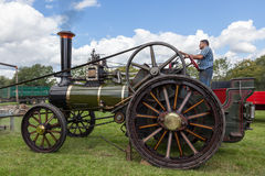 RUDGWICK, SUSSEX/UK - AUGUST 27 : Traction engine at Rudgwick St Stock Images