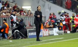 RUDI GARCIA AS ROME Royalty Free Stock Images