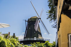 Rudkøbing Mill. In Langeland, Denmark Royalty Free Stock Image