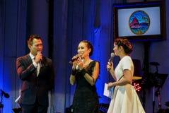 Rudklao Amratisha führen im Jazz im Gedächtnis bei Bangsaen durch Lizenzfreies Stockfoto