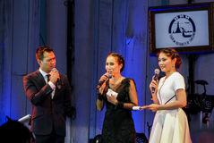 Rudklao Amratisha perform in Jazz in memory at Bangsaen Royalty Free Stock Photo