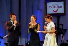 Rudklao Amratisha perform in Jazz in memory at Bangsaen Royalty Free Stock Image