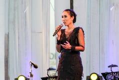 Rudklao Amratisha perform in `Jazz in memory at Bangsaen` concert Stock Image