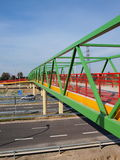Rudnik interchange of S17 expressway Stock Photos
