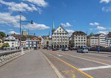 Rudolf Brun Bridge Images libres de droits