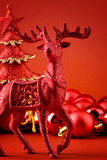 Rudolf closeup Royalty Free Stock Photography