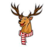 Rudolf głowa Ilustracji