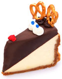 Rudolf the Rednosed Cheesecake Royalty Free Stock Image