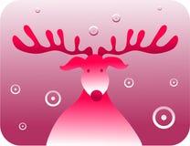 Rudolf retro Obrazy Royalty Free