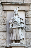 Rudolf Weyr: Magyar. On the facade of the Neuen Burg on Heldenplatz in Vienna, Austria Stock Photography
