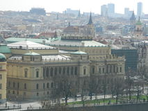 Rudolfinum在布拉格,捷克共和国 库存图片