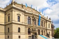 Rudolfinum在布拉格 免版税库存照片