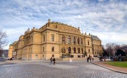 Rudolfinum, Πράγα, Δημοκρατία της Τσεχίας Στοκ εικόνες με δικαίωμα ελεύθερης χρήσης