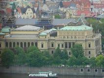 Rudolfinum στην Πράγα, Τσεχία Στοκ εικόνες με δικαίωμα ελεύθερης χρήσης