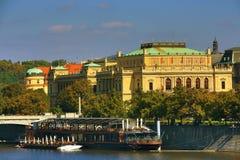 Rudolfinum, Charles Bridge, Prague, Czech Republic Royalty Free Stock Image