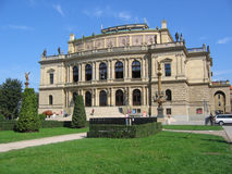 Rudolfinum, concert hall. Stock Photography