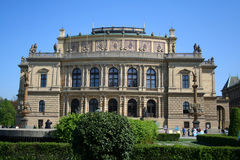 Rudolfinum Concert Hall in Prague, Czech Royalty Free Stock Photo