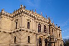 Rudolfinum Concert Hall in Prague Stock Photo