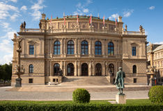 Rudolfinum (Dvorak) Concert Hall in Prague Stock Photography