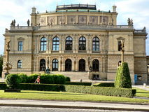 Rudolfinum - Dvorak Salão Imagens de Stock Royalty Free